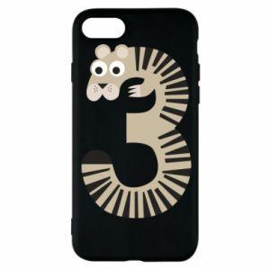 Etui na iPhone 8 Figurka zwierzęca od 3 lat