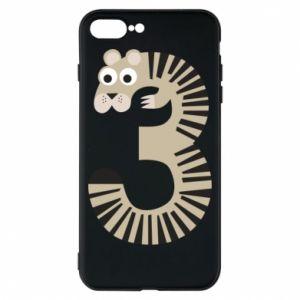 Etui na iPhone 8 Plus Figurka zwierzęca od 3 lat
