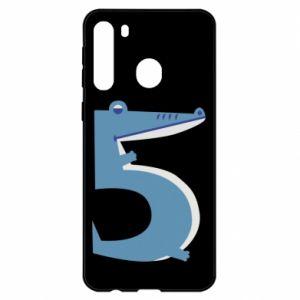 Etui na Samsung A21 Figurka zwierzęca od 5 lat