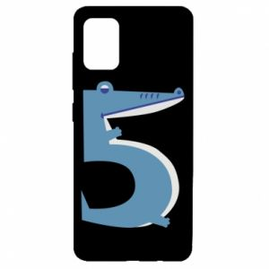 Etui na Samsung A51 Figurka zwierzęca od 5 lat