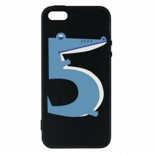 Etui na iPhone 5/5S/SE Figurka zwierzęca od 5 lat