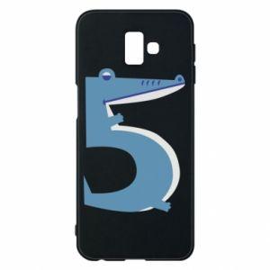 Etui na Samsung J6 Plus 2018 Figurka zwierzęca od 5 lat