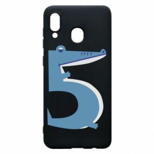 Etui na Samsung A30 Figurka zwierzęca od 5 lat