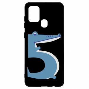 Etui na Samsung A21s Figurka zwierzęca od 5 lat