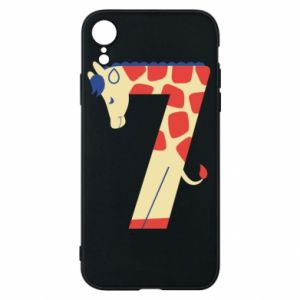 Phone case for iPhone XR Animal figurine for 7 years