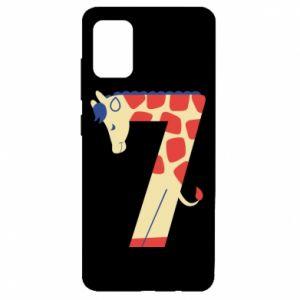 Etui na Samsung A51 Figurka zwierzęca od 7 lat