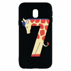 Phone case for Samsung J3 2017 Animal figurine for 7 years