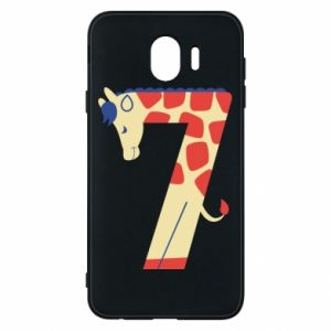 Phone case for Samsung J4 Animal figurine for 7 years