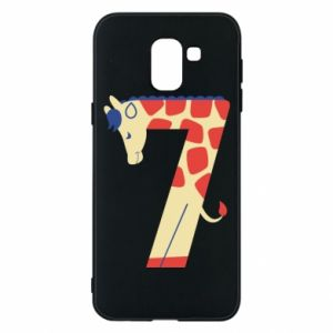 Phone case for Samsung J6 Animal figurine for 7 years