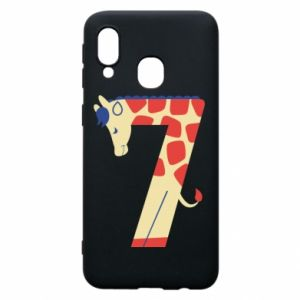Phone case for Samsung A40 Animal figurine for 7 years