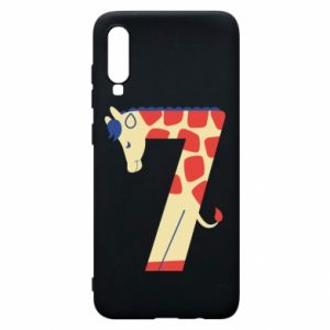 Phone case for Samsung A70 Animal figurine for 7 years