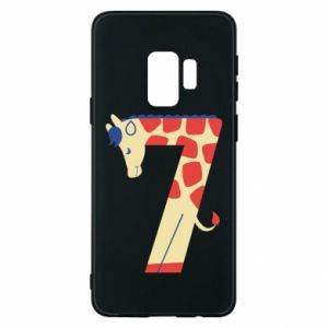 Phone case for Samsung S9 Animal figurine for 7 years