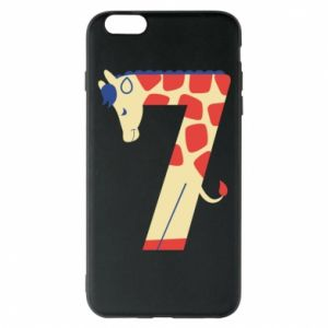 Phone case for iPhone 6 Plus/6S Plus Animal figurine for 7 years