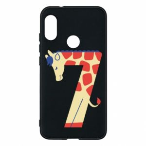 Phone case for Mi A2 Lite Animal figurine for 7 years