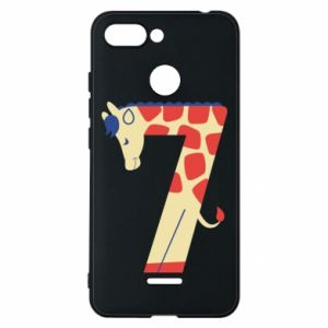 Phone case for Xiaomi Redmi 6 Animal figurine for 7 years