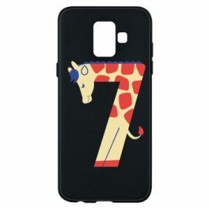 Phone case for Samsung A6 2018 Animal figurine for 7 years