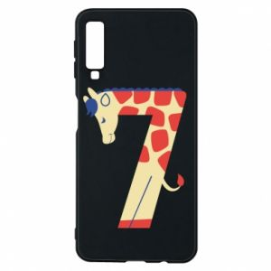 Phone case for Samsung A7 2018 Animal figurine for 7 years