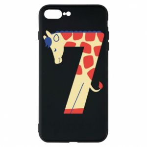 Phone case for iPhone 7 Plus Animal figurine for 7 years