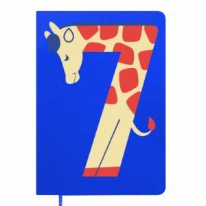 Notepad Animal figurine for 7 years