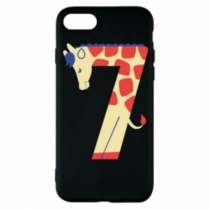 Phone case for iPhone 8 Animal figurine for 7 years