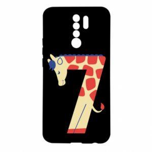 Etui na Xiaomi Redmi 9 Figurka zwierzęca od 7 lat