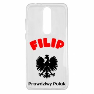 Phone case for Huawei Y7 Prime 2018 Filip is a real Pole - PrintSalon
