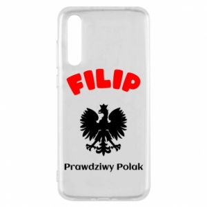 Phone case for Huawei P30 Filip is a real Pole - PrintSalon
