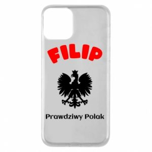 Phone case for iPhone 8 Filip is a real Pole - PrintSalon