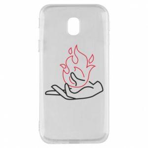 Etui na Samsung J3 2017 Fire in hand