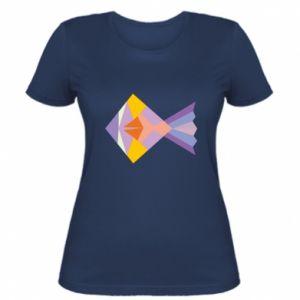 Damska koszulka Fish abstraction