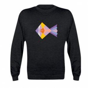 Bluza dziecięca Fish abstraction