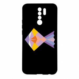 Etui na Xiaomi Redmi 9 Fish abstraction