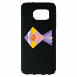 Etui na Samsung S7 EDGE Fish abstraction