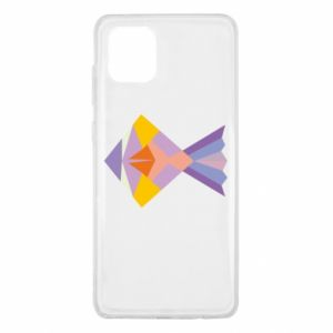 Etui na Samsung Note 10 Lite Fish abstraction