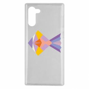 Etui na Samsung Note 10 Fish abstraction