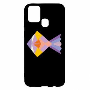 Etui na Samsung M31 Fish abstraction