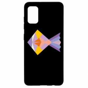 Etui na Samsung A41 Fish abstraction