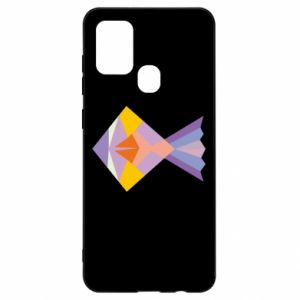 Etui na Samsung A21s Fish abstraction