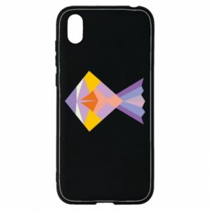 Etui na Huawei Y5 2019 Fish abstraction