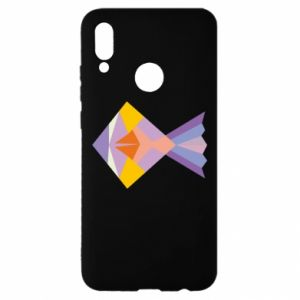 Etui na Huawei P Smart 2019 Fish abstraction