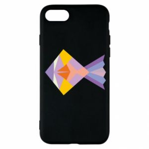 Etui na iPhone SE 2020 Fish abstraction