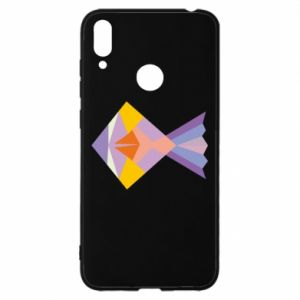 Etui na Huawei Y7 2019 Fish abstraction