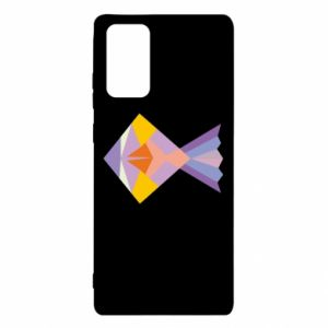 Etui na Samsung Note 20 Fish abstraction