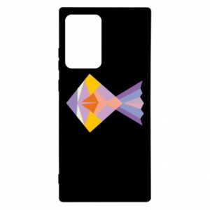 Etui na Samsung Note 20 Ultra Fish abstraction