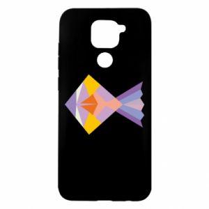 Etui na Xiaomi Redmi Note 9/Redmi 10X Fish abstraction