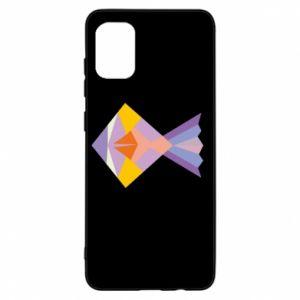 Etui na Samsung A31 Fish abstraction