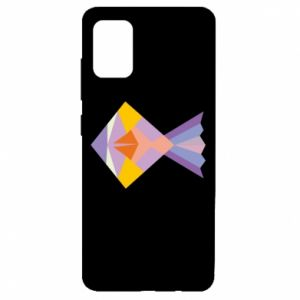 Etui na Samsung A51 Fish abstraction