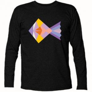 Koszulka z długim rękawem Fish abstraction