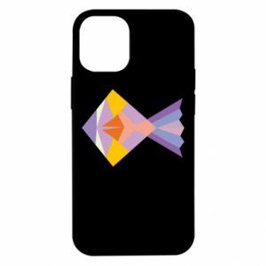Etui na iPhone 12 Mini Fish abstraction