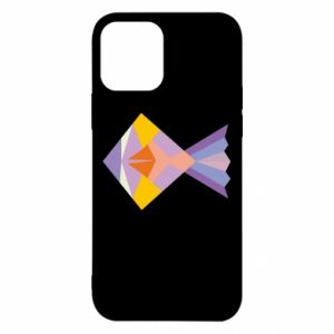 Etui na iPhone 12/12 Pro Fish abstraction